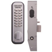 Aluminium Door Push Button Lock