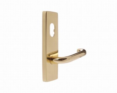 Lever Handle on Plate